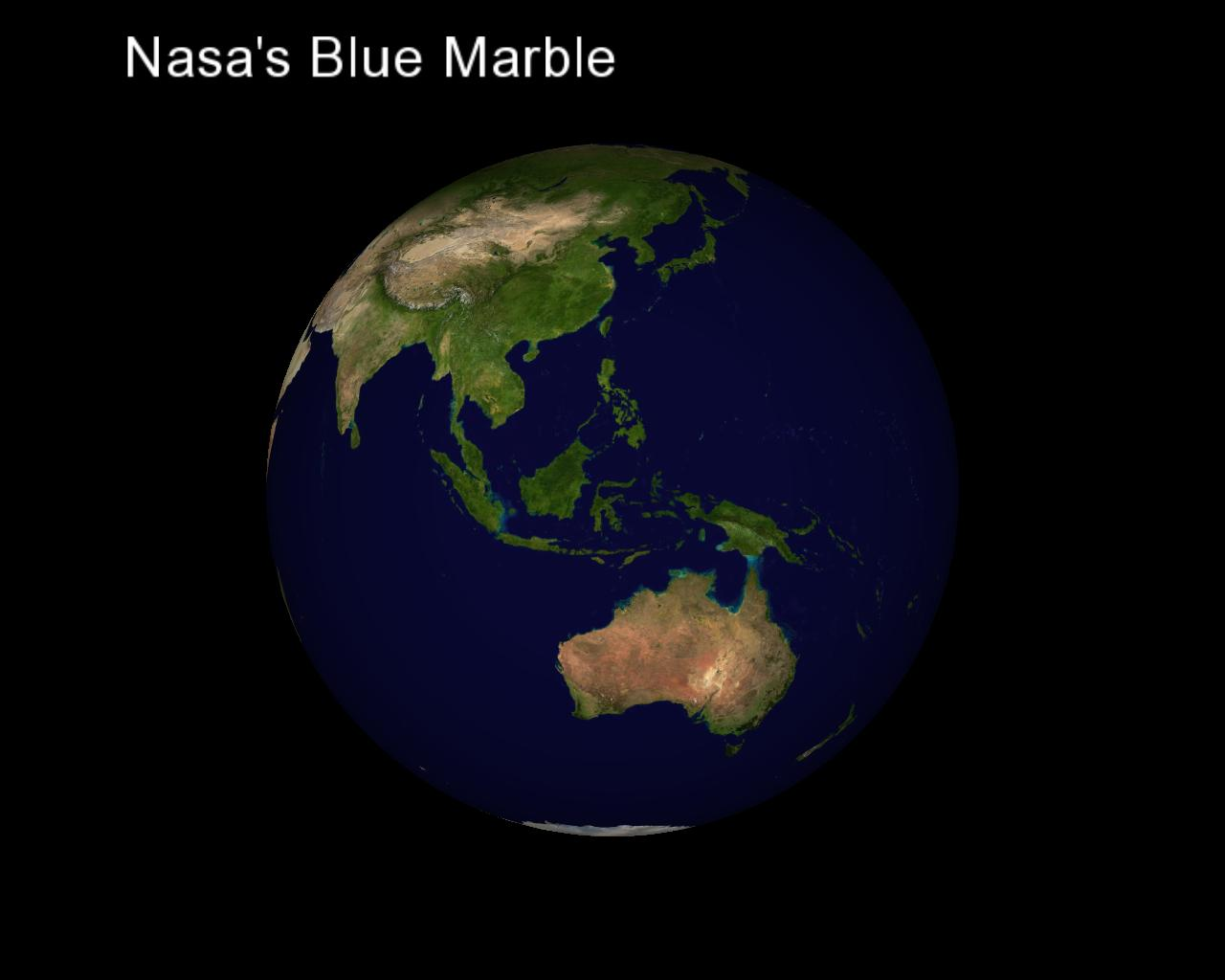 screenshots of the nasas blue marble high resolution imagery