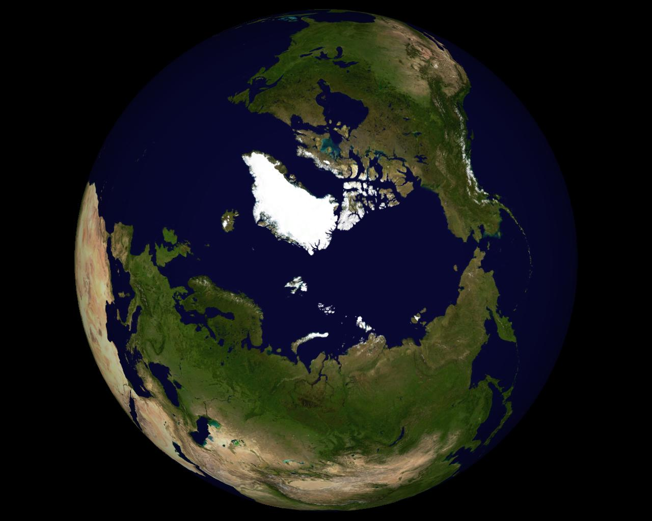 Earth North Pole NASA - Pics about space